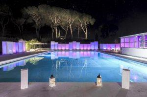 appio claudio eventi piscina a roma