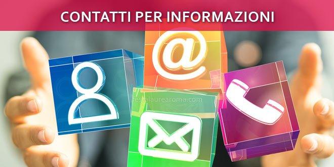 contatti utili per informazioni