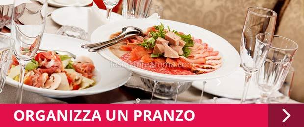 pranzo festa di laurea a roma