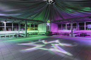 sala per feste private a roma